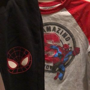 Gymboree Gym Friends Marvel Comics Spider-Man Set